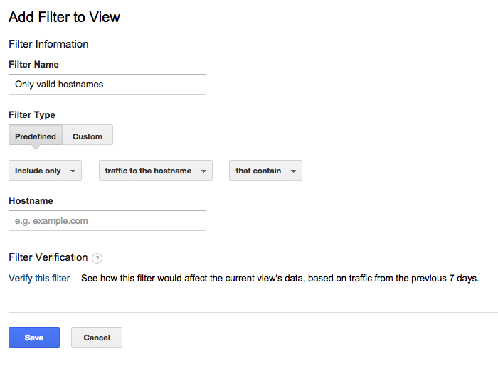 google-analytics-hostname-filter
